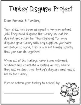 Disguise a turkey project freebie education pinterest turkey disguise a turkey project freebie maxwellsz
