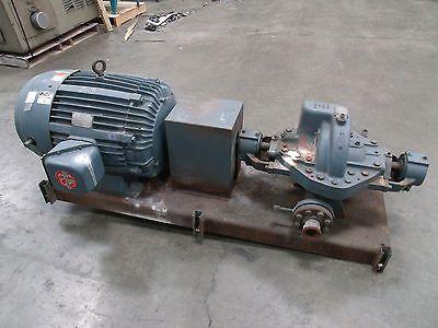 Ingersoll Dresser 2llr 11 Horizontal Split Case Pump With 100hp Motor