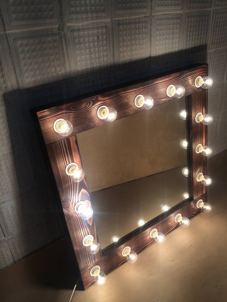 Beleuchteter Kosmetikspiegel Best Lighting For Makeup Hollywood Mirror Modern Makeup Vanity