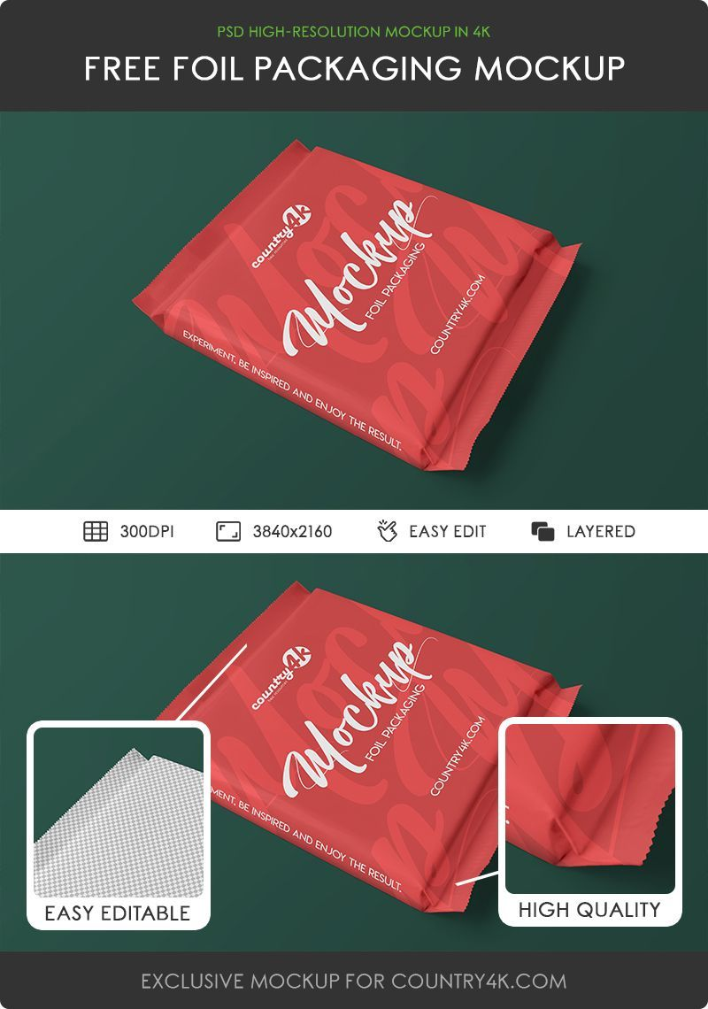 Download Https Country4k Com Product Free Foil Packaging Psd Mockup In 4k Mockup Psd Foil Packaging Mockup