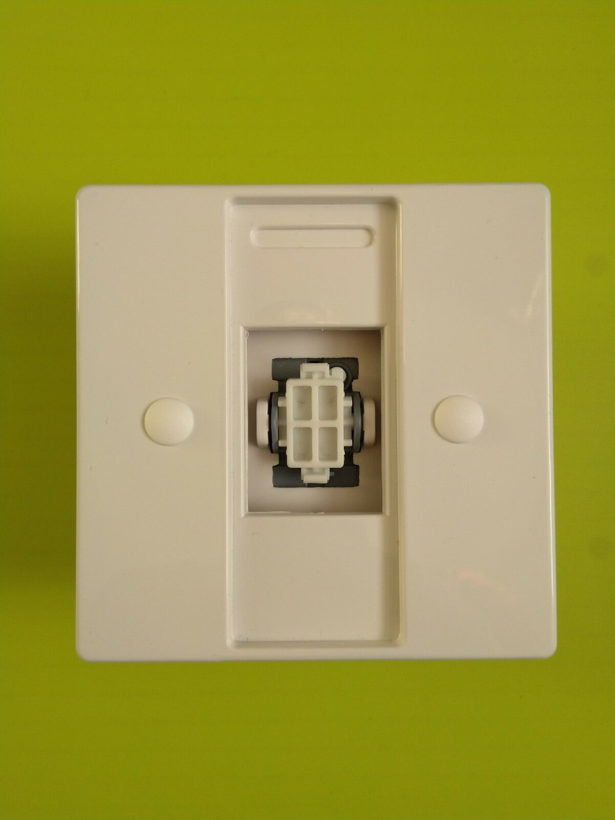 Ivory Philips Hue Dimmer Switch Plate Adapter Injection