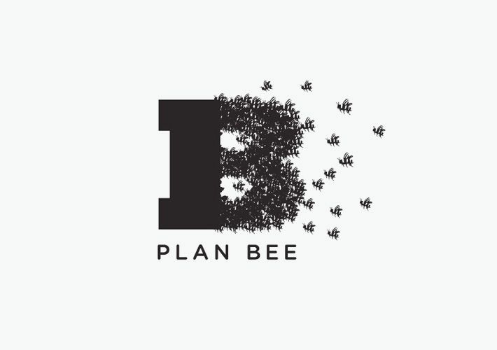 ≗ The Bee's Reverie ≗ plan bee logo