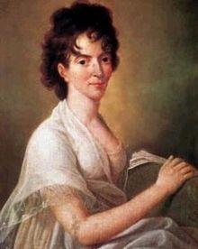 Constanze Weber sposò Mozart nel 1782 : in nove anni di matrimonio nacquero sei figli, due soli dei quali ginsero all'età adulta.