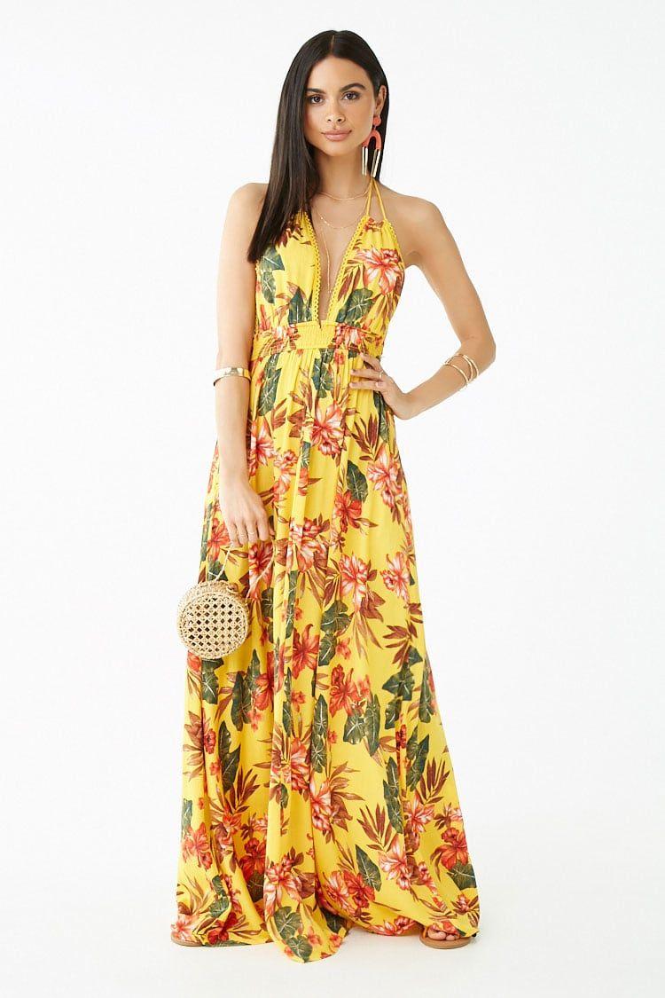 Floral Print Maxi Dress Forever 21 Printed Maxi Dress Maxi Dress Dresses Xsmall
