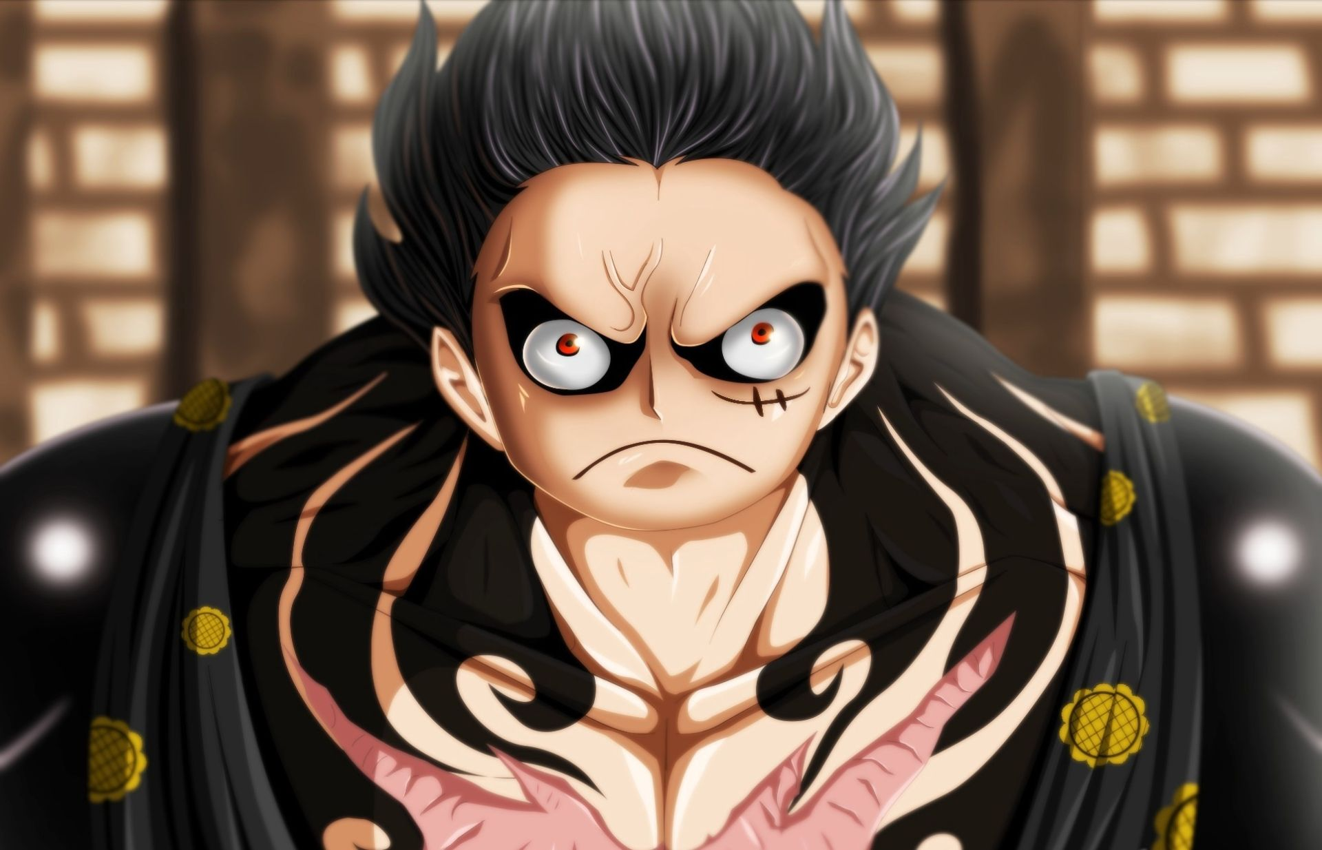 Anime One Piece Monkey D Luffy Gear Fourth Wallpaper