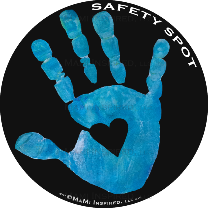 Black Background With Five Colored Hand Print Options Please See Other Listings For Different Background Color Options Kids Hands Colorful Backgrounds Kids