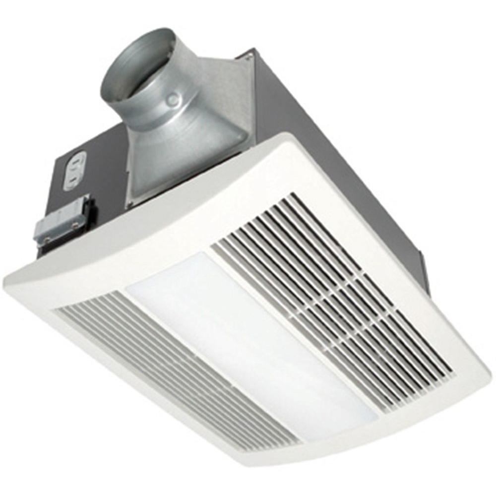 Panasonic Whisperwarm 110 Cfm Ceiling Exhaust Bath Fan With Light And Heater Fv 11vhl2 Th Bathroom Ventilation Fan Bathroom Exhaust Fan Light Bathroom Heater