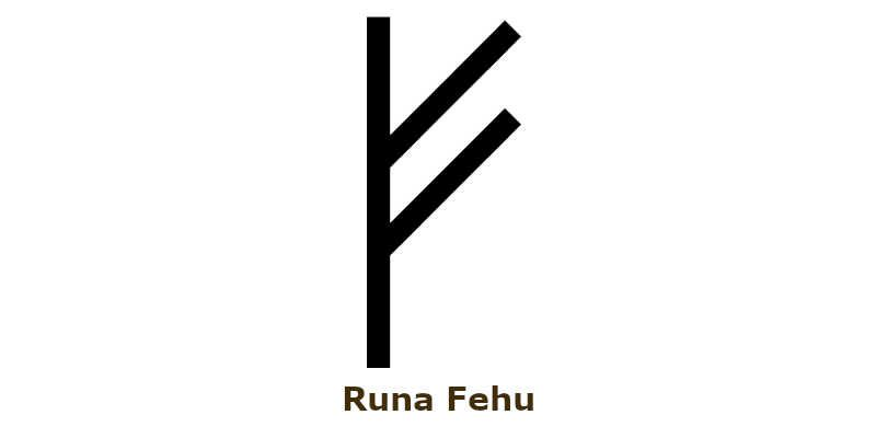 Runa Fehu Significado E Interpretación Símbolos Vikingos Símbolos Vikingos Runas Runas Nórdicas