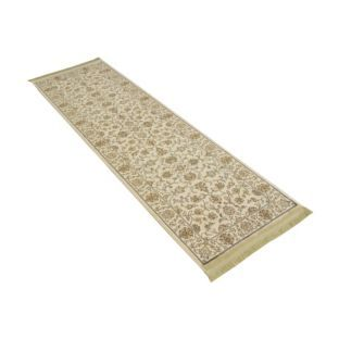 Clic Jaipur Silk Effect Runner Natural 65 X 210cm At Argos Co