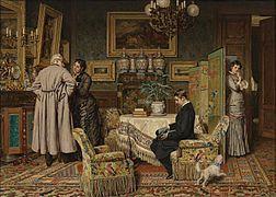 Evert Jan Boks The Marriage Proposal 1882.jpg