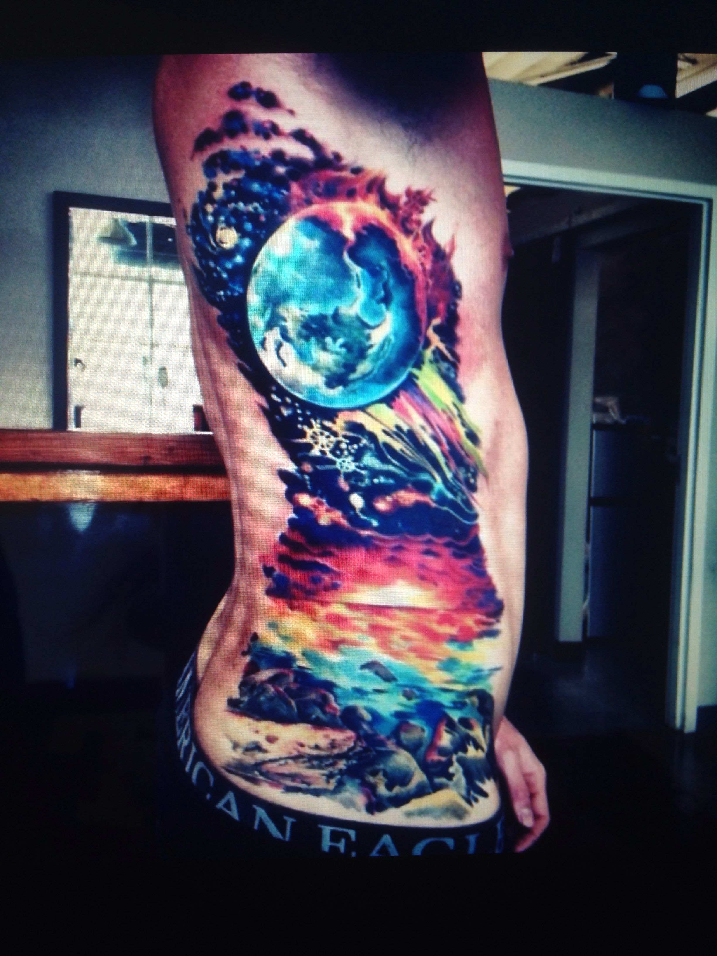 Silo Tattoos Incredible Body Art Masterpieces That Look: My Cousin Danny's Recent Tat.