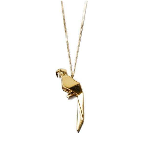 Necklace Parrot by claire#winboticca