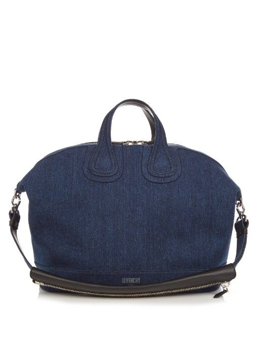 45367466e2d2 GIVENCHY Nightingale Denim Weekend Bag.  givenchy  bags  leather  lining   travel