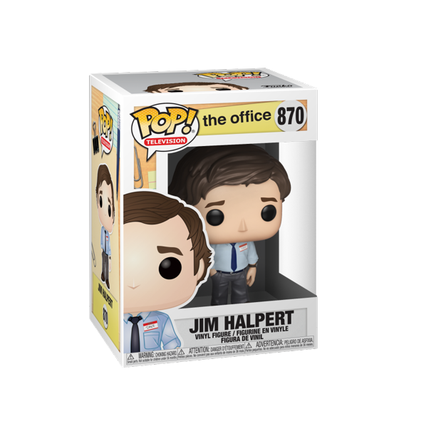 Funko Pop Tv The Office Jim Halpert Walmart Com In 2021 Vinyl Figures The Office Jim Jim Halpert