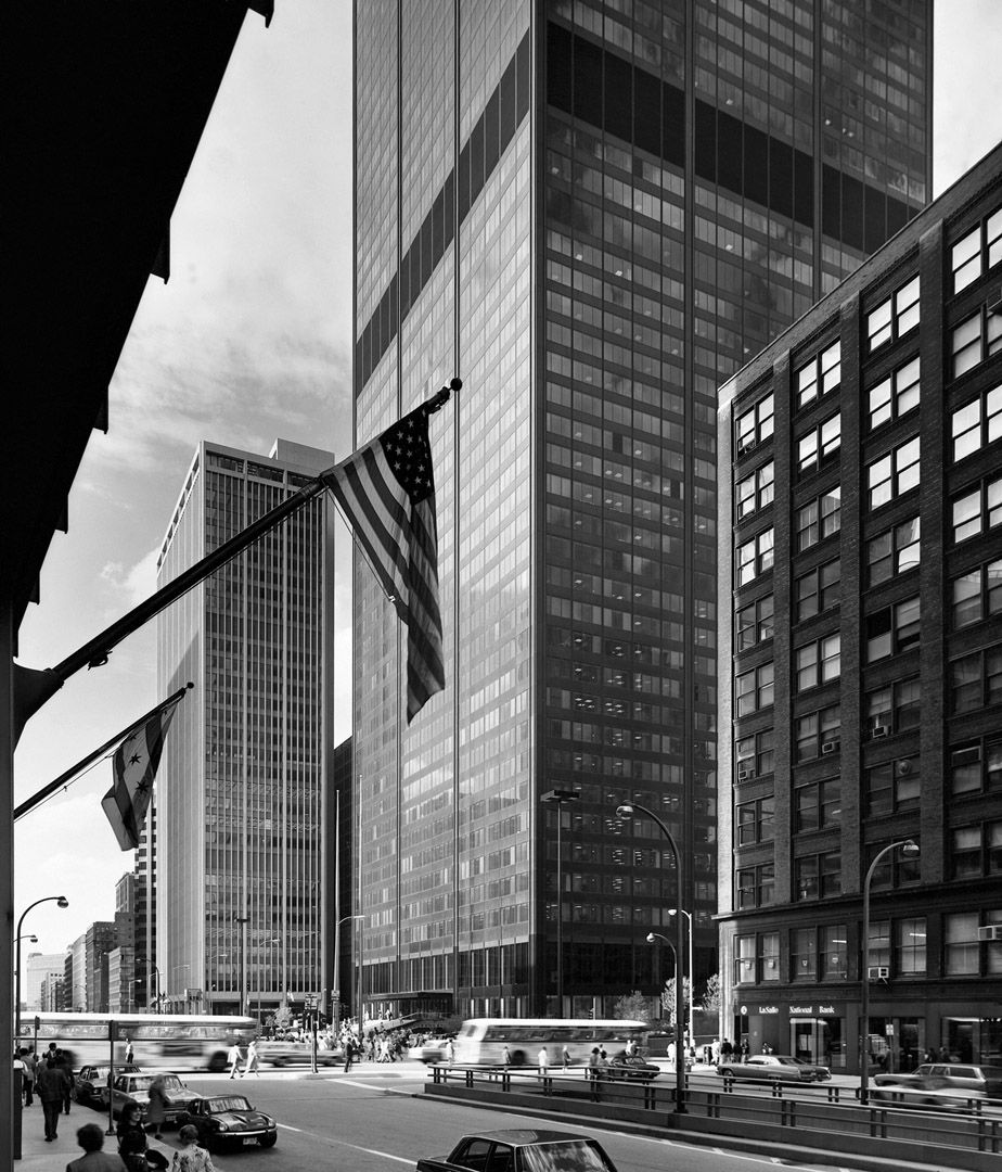 Ezra Stoller Sears Tower Architecture Photography Architecture