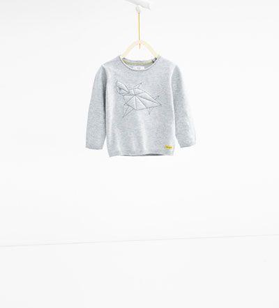 Image 1 de Pull tortue 1D. de Zara