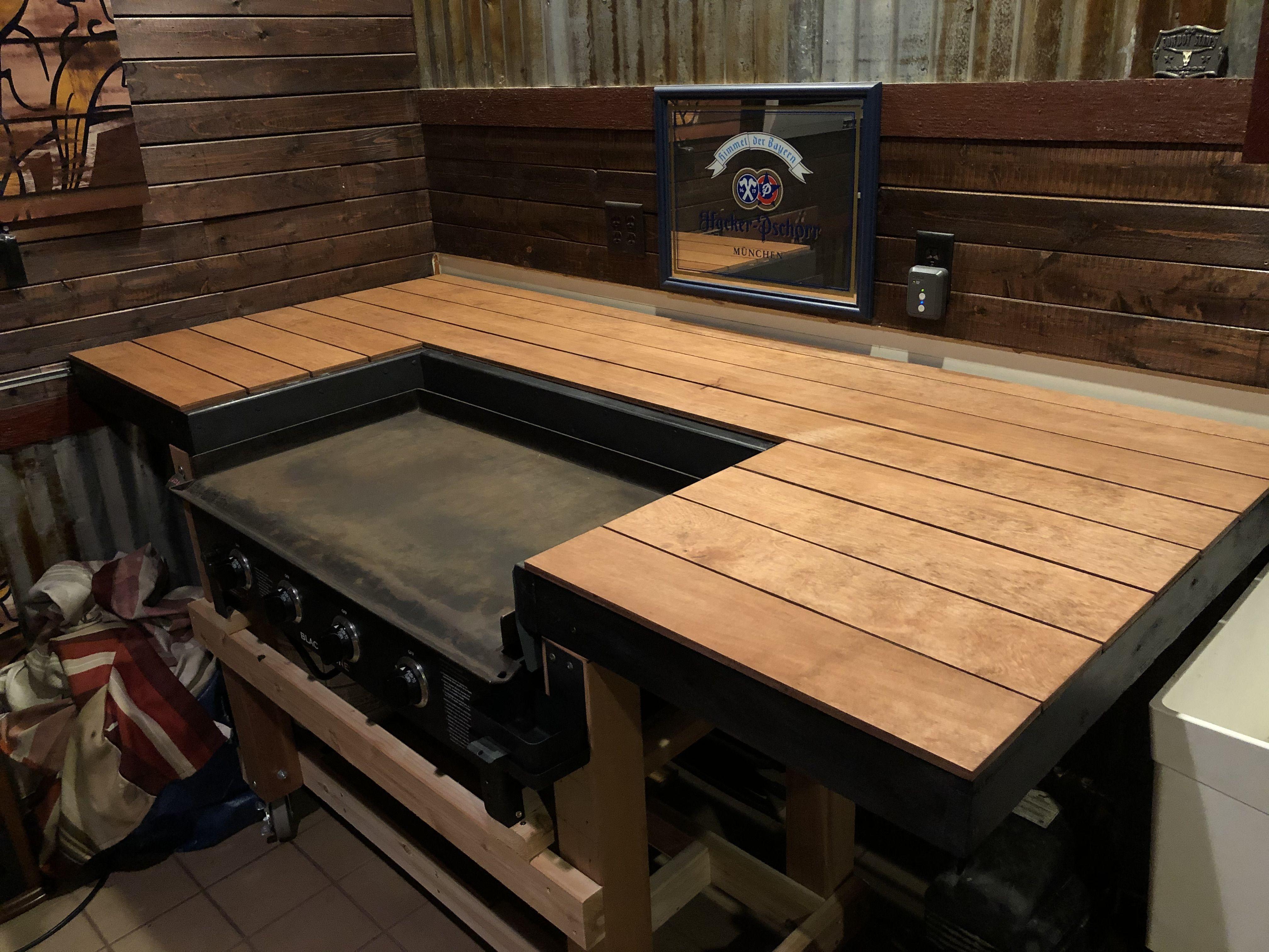 My Blackstone Griddle Upgrade Outdoor Kitchen Plans Outdoor Bbq Kitchen Pizza Oven Outdoor Kitchen