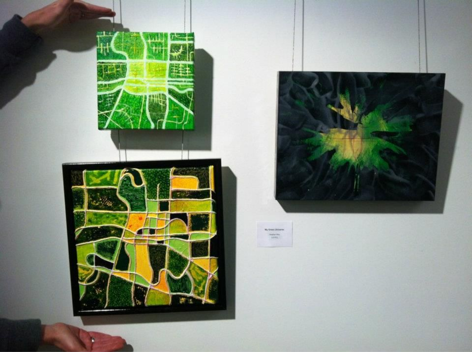 """""""My Green Universe"""" Three abstract explorations of London ..."""
