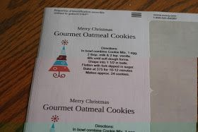 Echoes of Laughter: Christmas Cookie Week: Gourmet Oatmeal Cookies In A Jar...