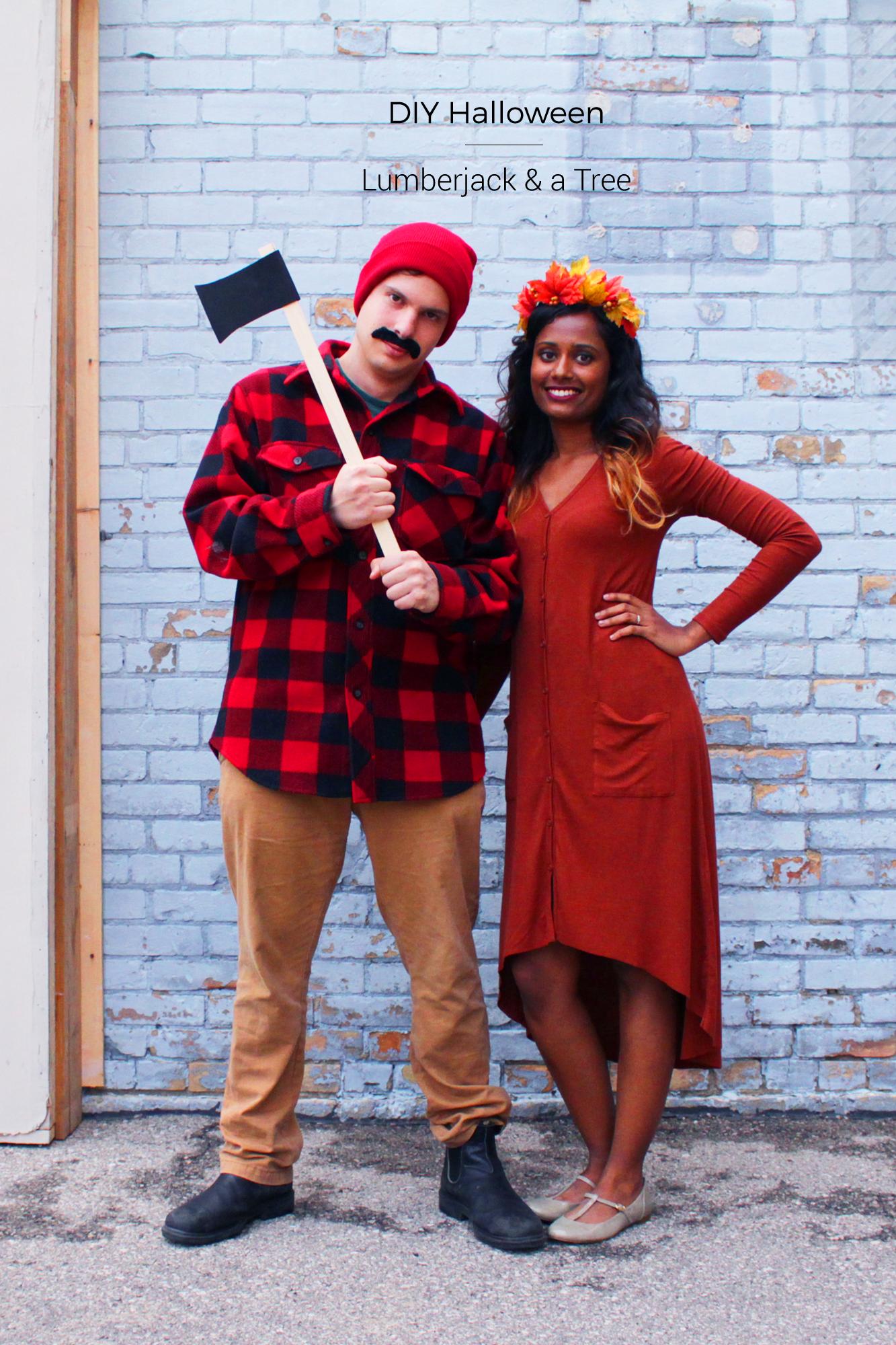 DIY Halloween Couples Costume Couple halloween costumes