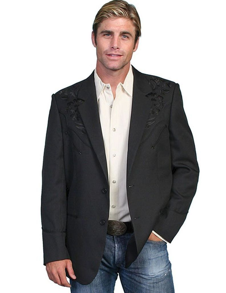 Scully Leather Scully Western Blazer Mens Embroidered Floral Tonal P 733 Walmart Com Western Sport Coat Mens Western Jackets Scully Shirts [ 1024 x 792 Pixel ]