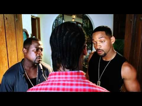 Bad Boys 2.. hahaha what to do with your daughters boyfriend? You test him