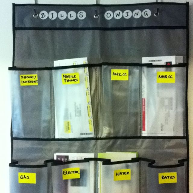 Over The Door Shoe Storage  Bill Organizer So ThatS Where All