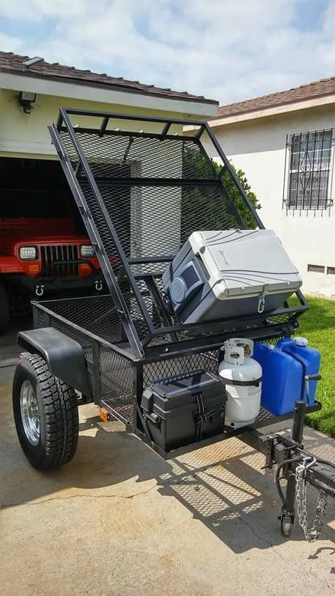 overland offroad trailer input wanted using lowe s 4x6 frame as