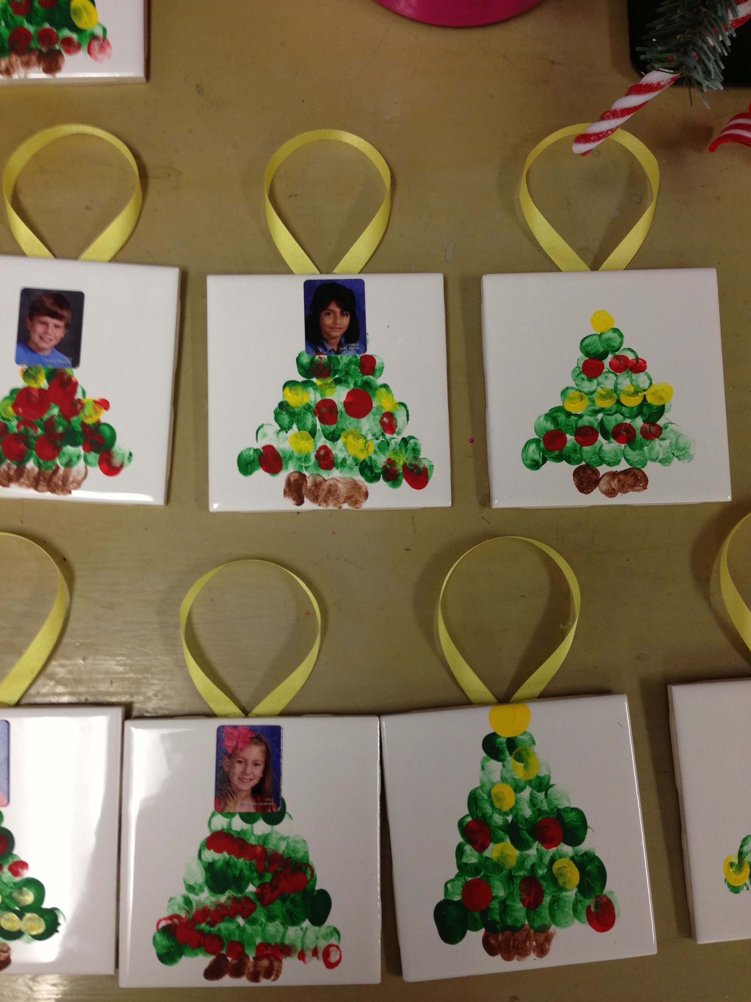Cute Easy Ornaments To Do With Students Tiles 60 At Lowes And Home Depot Childrens Christmas Crafts Preschool Christmas Christmas Ornaments Homemade