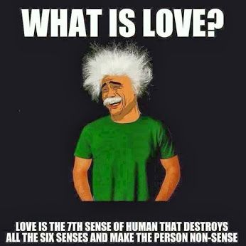 What is love? Oh.. apparently its thatO_o