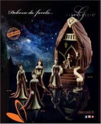 """Moule LINEAGUSCIO Oeuf de taille grande """"Dance des Princesses"""""""