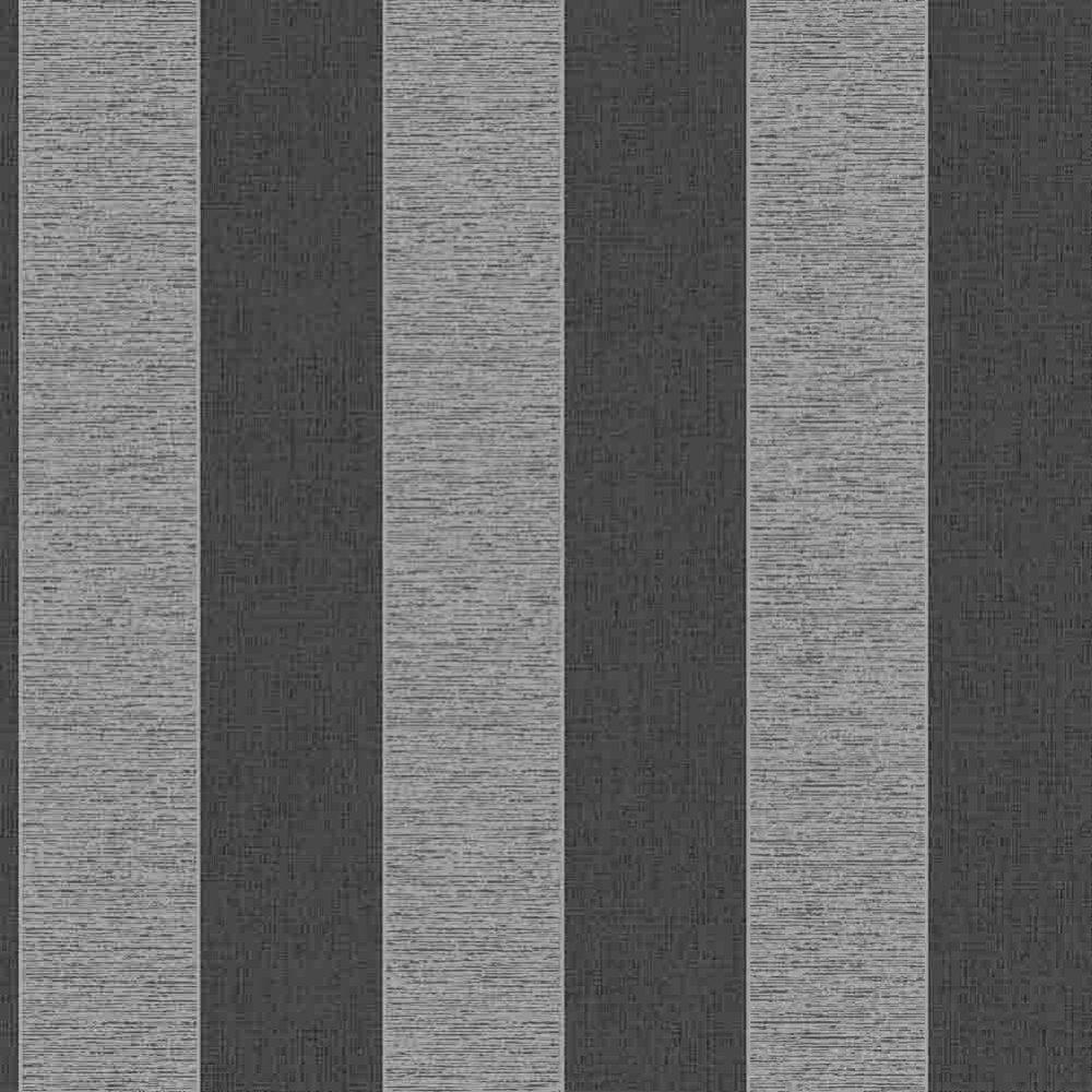 Vogue Black, White Grey striped wallpaper Amazon.co.uk