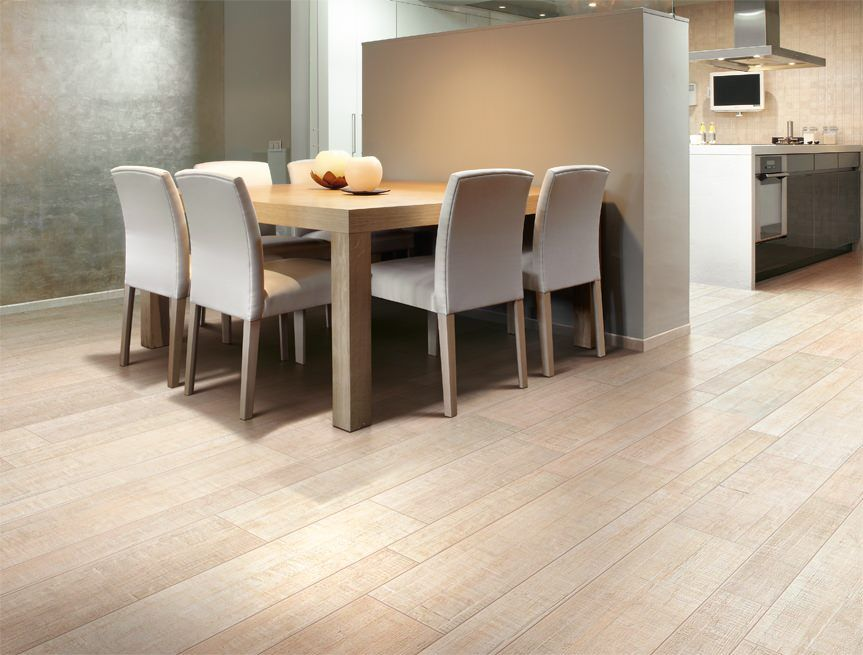 barrique from cerdomus invent new floor solutions with porcelain tiles - Kitchen Floor Solutions