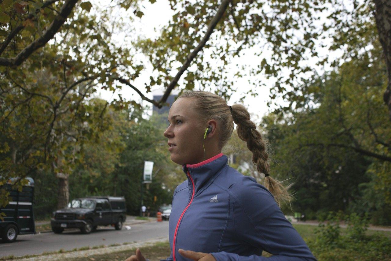 全米テニス準優勝、キャロライン・ウォズニアッキさんのNYライフ