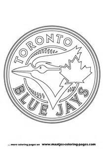 Free Coloring Pages Of Blue Jays Baseball Coloring Pages Toronto Blue Jays Logo Sports Coloring Pages