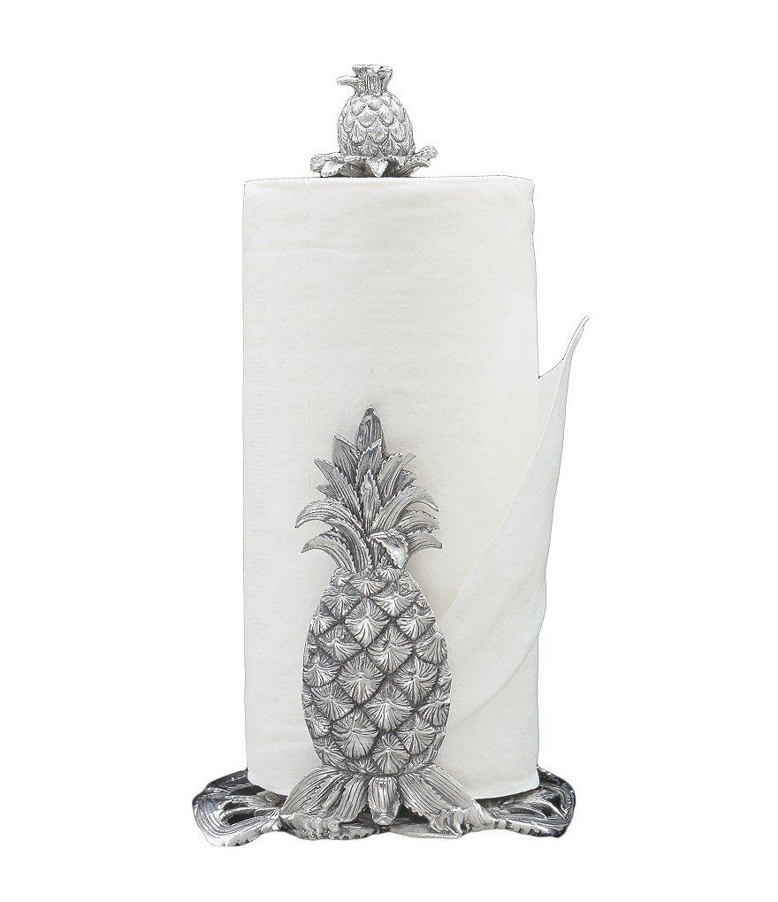 Arthur Court Pineapple Paper Towel Holder in My style kitchen