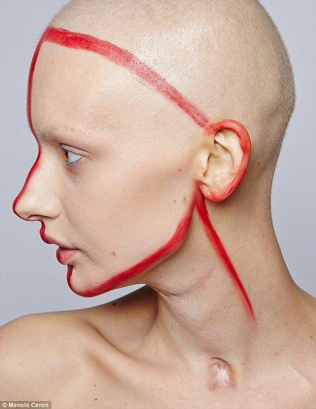 Model who lost 95% of her jaw to cancer poses for stunning ...