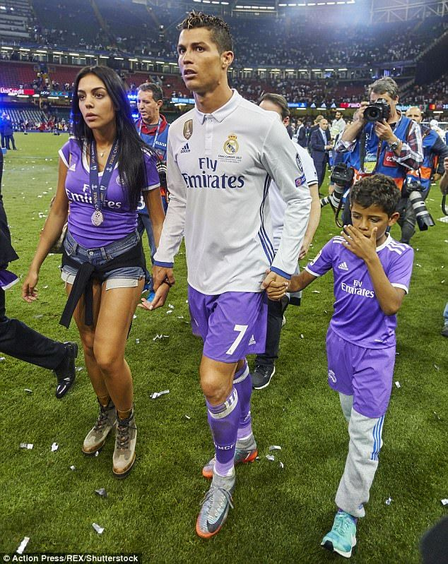 Tight lipped  Cristiano s family has always refused to discuss whether his  son was born to. c3b48ed48