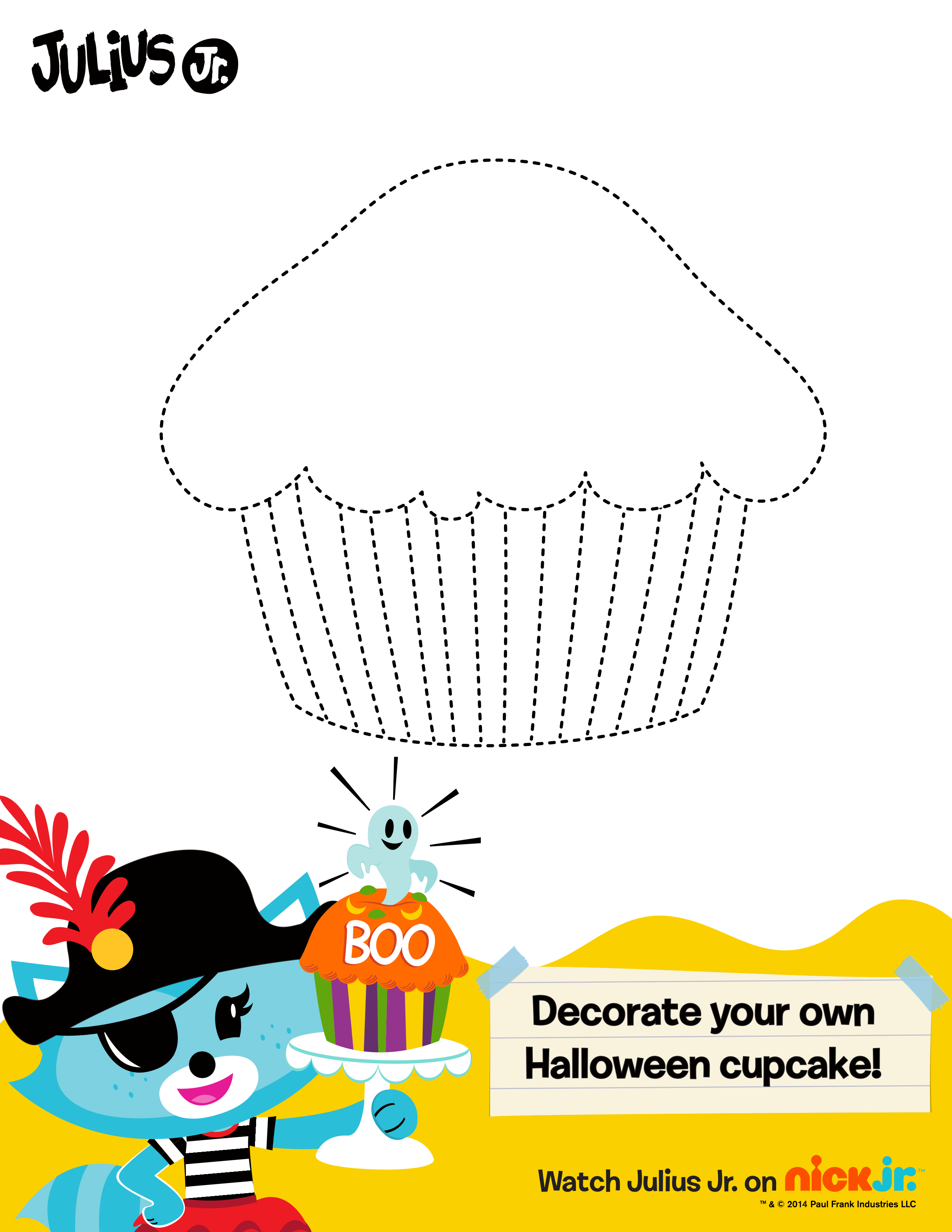 Design the spookiest sweet you can with this Julius Jr. cupcake ...
