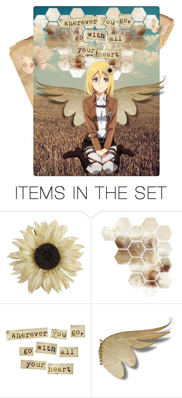 """Wherever you go, go with your Heart"" by requiem-of-kingdom-hearts ❤ liked on Polyvore featuring art"