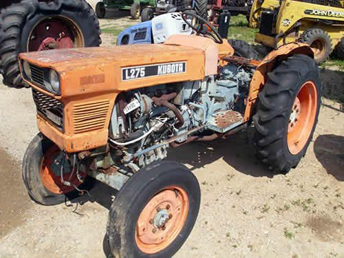 Recycled Tractor Parts : Kubota l tractor salvaged for used parts call