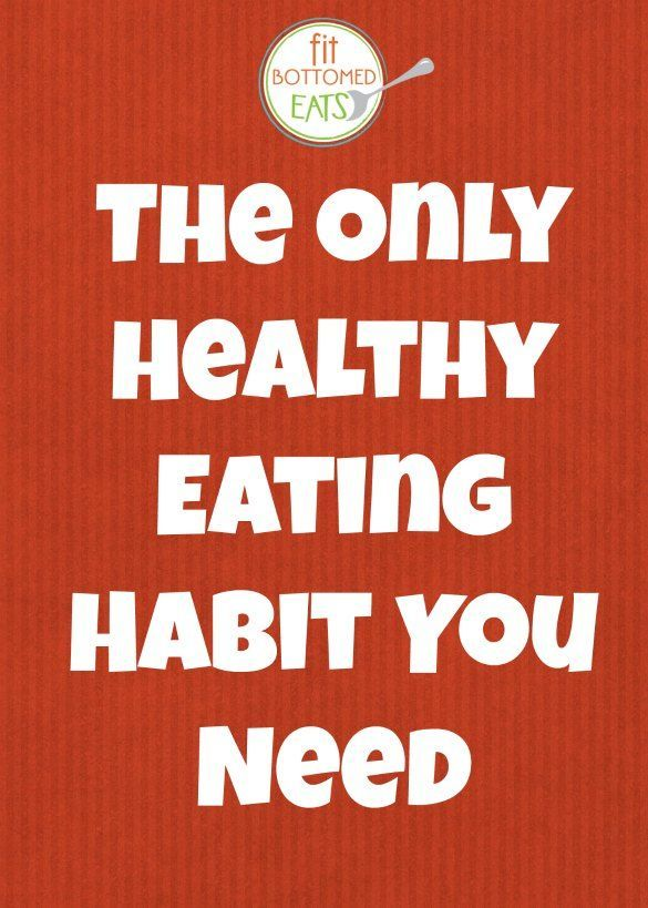 A healthy eating habit you should try when you feel like you've gotten off track.