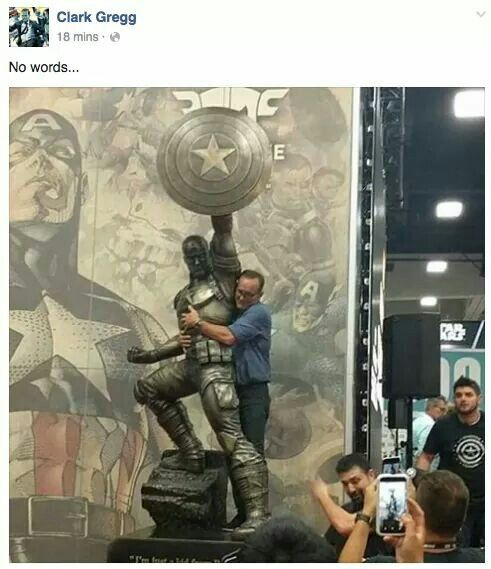SDCC 2016 Clark Gregg is awesome!