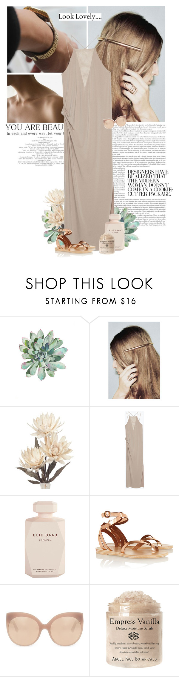 """""""all you need is....ice cream."""" by eve-angermayer ❤ liked on Polyvore featuring Zara, Elie Saab, Valia Gabriel and Linda Farrow"""