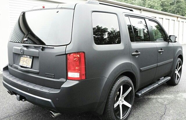Blacked Out my 2016 - No Chrome left! - Honda Pilot ...