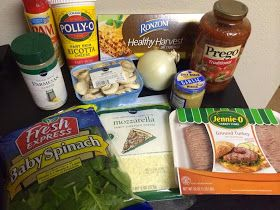 Martinis & Bikinis: Tasty Recipes: Turkey & Spinach Lasagna