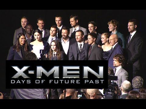 â–¶ x men days of future past full cast press conference 2014 x men days of future past full cast press conference 2014