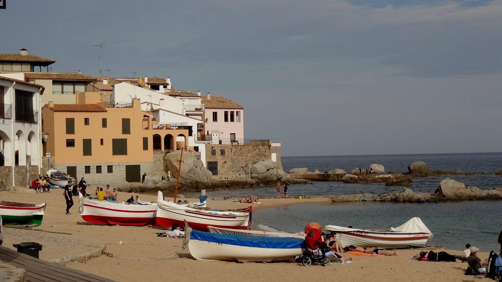 Calella de Palafrugell, Costa Brava Costa, Algeciras y