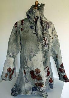 ChameleonWool: meine erste gefilzte Jacke - my first felted jacket