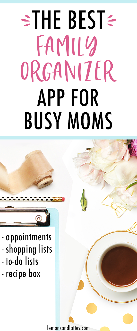 The Best Family Organizer For Busy Moms Create Ointments Ping Lists To Do A Recipe Box And More